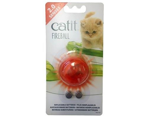 CATIT 2.0 SENSES FIREBALLThe Catit 2.0 Senses Fireball is an exciting light up cat teaser...