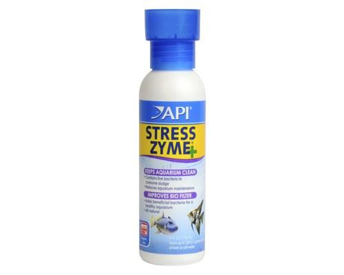 API | STRESS ZYME | 118ml   Organic material are the cause of build ups of toxic chemicals in aquarium.