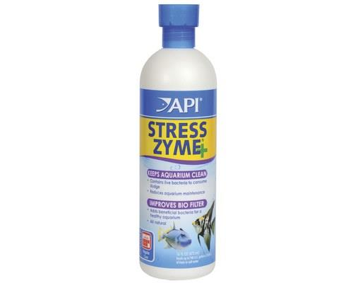 API STRESS ZYME 473ML 16OZTo improve biological filters and clean dirty aquariums best, use API Stress...