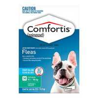 Buy Comfortis Chewable Tablets for Dogs at Vetsupply. Comfortis is a once a month tablet for the...