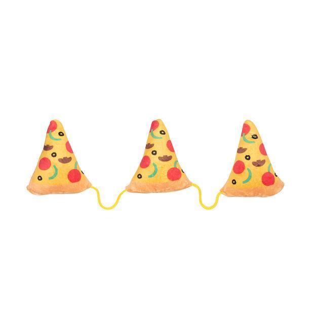 Fuzzyard Cat Toy Pizza Each Pet: Cat Category: Cat Supplies  Size: 0.1kg Colour: Multi  Rich...