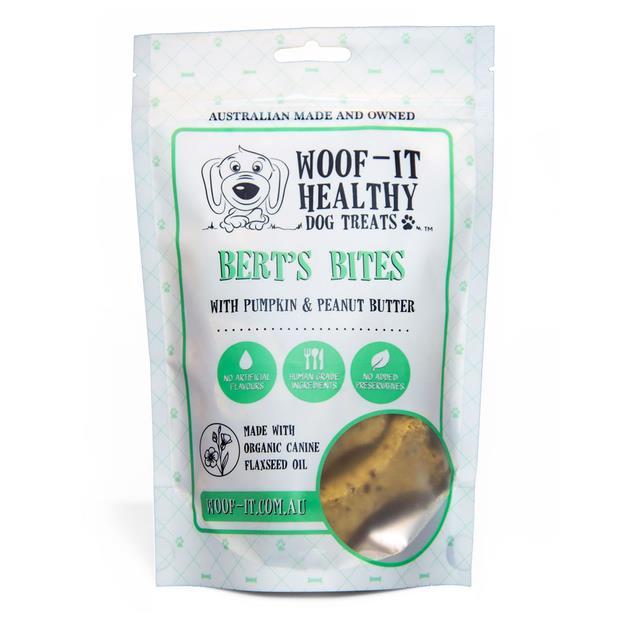 Woof It Berts Bites 150g Pet: Dog Category: Dog Supplies  Size: 0.2kg  Rich Description: WoofIt Healthy...