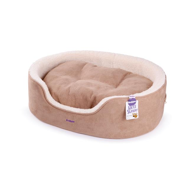 Kazoo Manhattan Bed Coffee White Medium Pet: Dog Category: Dog Supplies  Size: 1.6kg Colour: Brown...