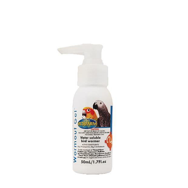 Vetafarm Wormout Gel 250ml Pet: Bird Category: Bird Supplies  Size: 0.3kg  Rich Description:...
