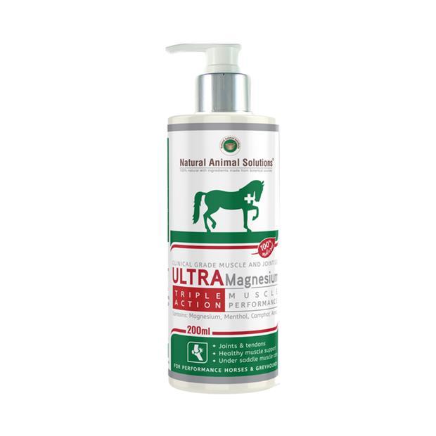 Natural Animal Solutions Ultramagnesium Gel 200 Ml Pet: Horse Size: 0.1kg  Rich Description: Operating...