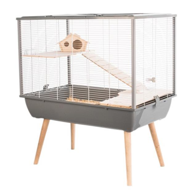 Zolux Neo Silta Small Animal Cage Grey Each Pet: Small Pet Category: Small Animal Supplies  Size: 7.6kg...