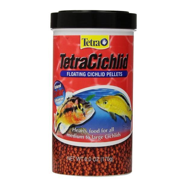 Tetra Cichlid Floating Pellets 170g Pet: Fish Category: Fish Supplies  Size: 0.2kg  Rich Description:...
