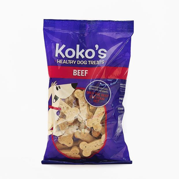 Kokos Beef Dog Treats 300g Pet: Dog Category: Dog Supplies  Size: 0.3kg  Rich Description: Kokos Dog...