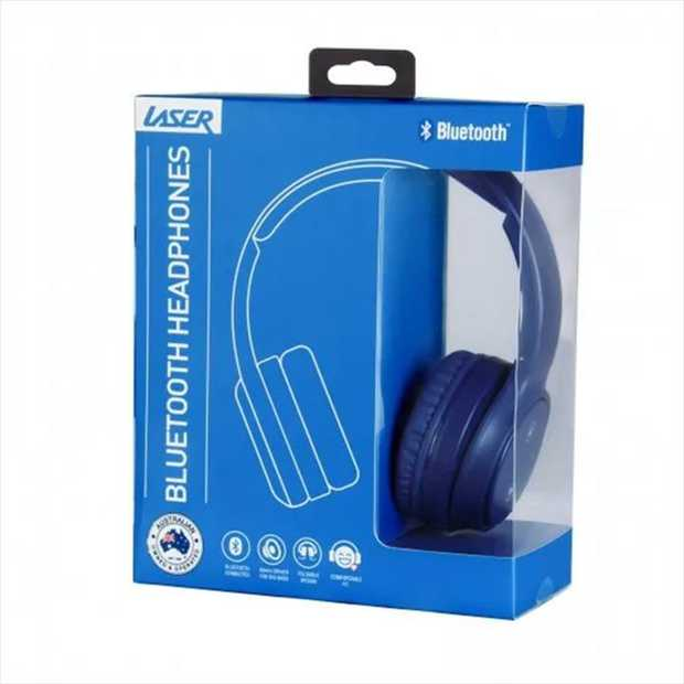 These stunning Navy Blue headphones from Laser are wireless, Bluetooth-enabled and offer incredible...