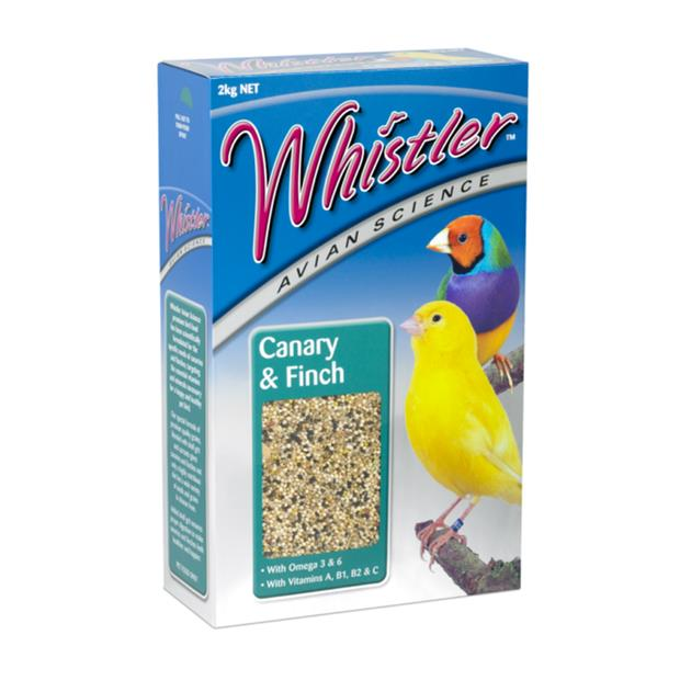 Whistler Avian Science Canary And Finch 2kg Pet: Bird Category: Bird Supplies  Size: 2kg  Rich...