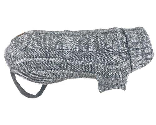 HUSKIMO CABLE KNIT CHAM GREY 67CMThere's no better way to fight off the winter chill than a big hug...