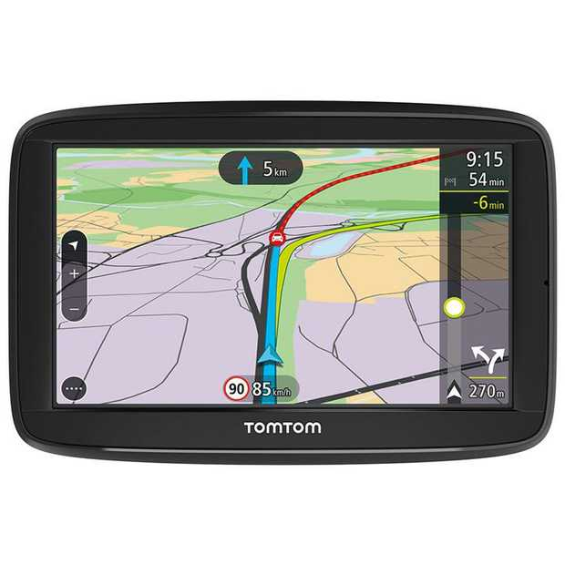 "5"" (13cm) Touchscreen Advanced Lane Guidance Quick Search 3 months Speed Cameras Lifetime TomTom..."