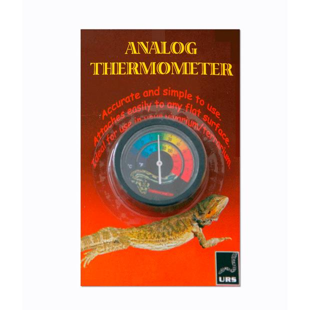 Urs Thermometer Analog Each Pet: Reptile Category: Reptile & Amphibian Supplies  Size: 0.3kg  Rich...