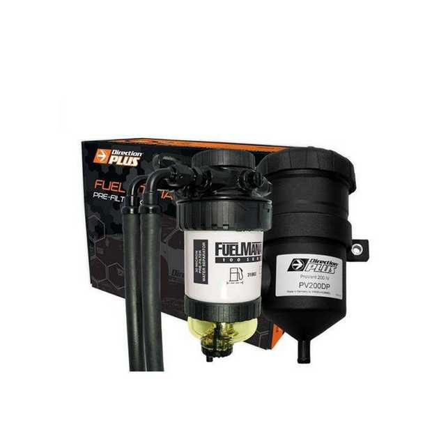 Protect your diesel engine with Direction-Plus Fuel Manager Pre-filter / Provent Dual Kit FMPV661DPK...