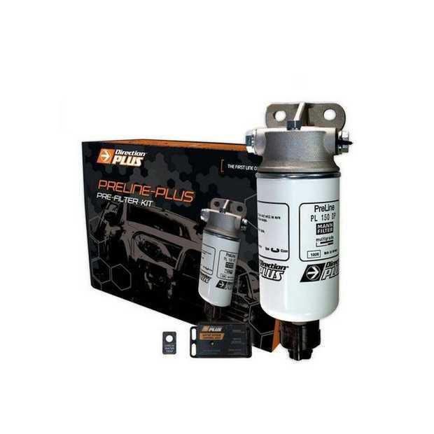 Direction-Plus PreLine-Plus Pre-Filter kit PL601DPK is an innovative pre-filter system for diesel fuel...