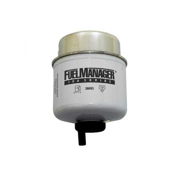 Direction-Plus 36693 is the Replacement Element for Fuel Manager FM 100 Series pre-filter kits which...