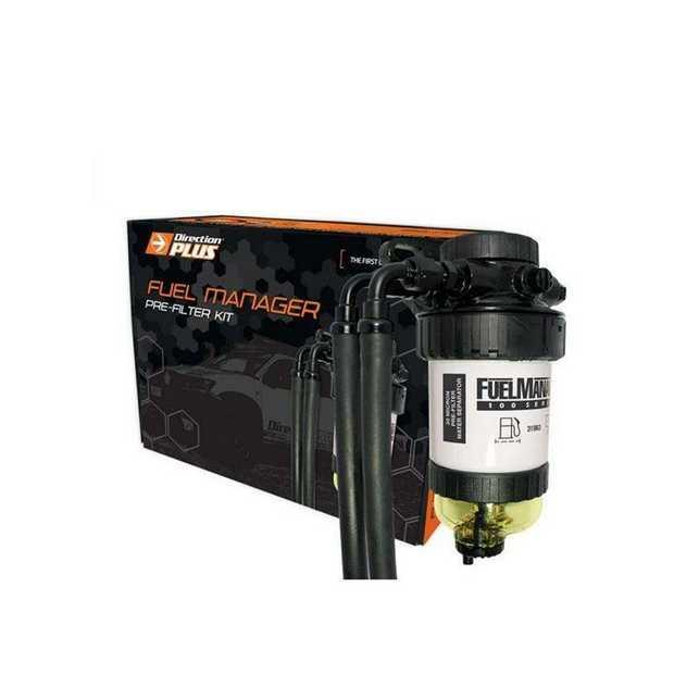 Direction Plus Fuel Manager Pre-Filter Kit FM618DPK suits Nissan Navara D40 and Pathfinder models...