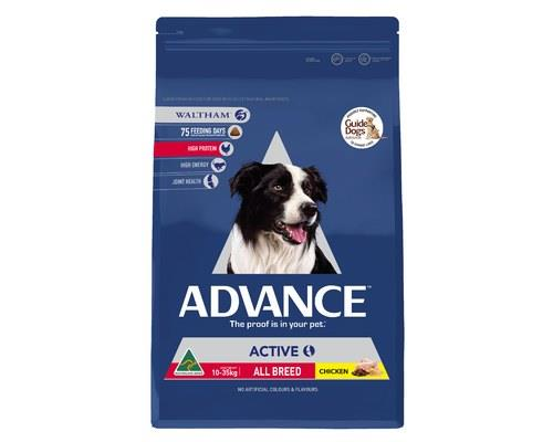 ADVANCE ADULT DOG ALL BREED ACTIVE 13KGADVANCE is scientifically formulated to help improve dog health.