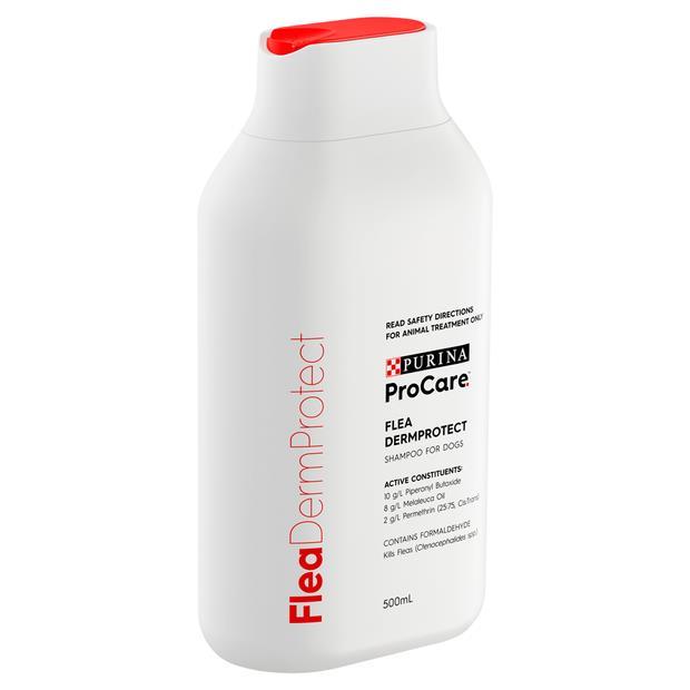 Procare Dermprotect Flea Control Shampoo 500ml Pet: Dog Category: Dog Supplies  Size: 3.5kg  Rich...