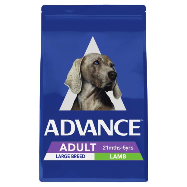 Advance Adult Large Breed Dry Dog Food Lamb 15kg Pet: Dog Category: Dog Supplies  Size: 15kg  Rich...