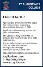 EALD TEACHER