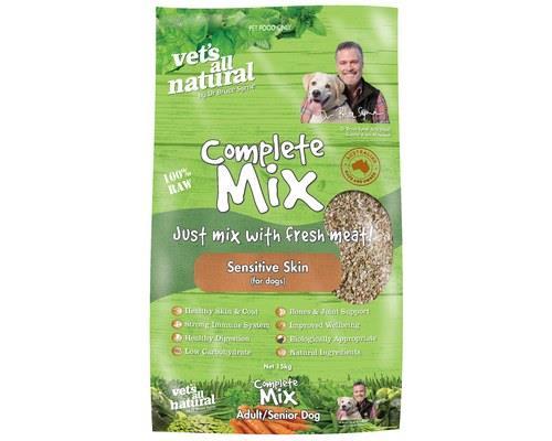 Vets All Natural Complete Mix Sensitive Skin, 15kgThe Complete Mix Sensitive Skin dog food from Vets...