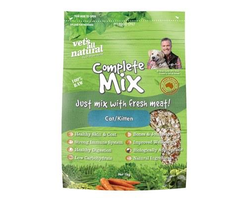 VETS ALL NATURAL COMPLETE CAT MIX 1 KG   * A healthy balanced diet consists of natural vegetable matter...