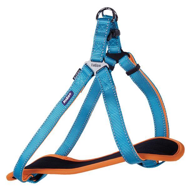 Kazoo Harness Active Ocean Sunrise Small Pet: Dog Category: Dog Supplies  Size: 0.1kg Colour: Blue...