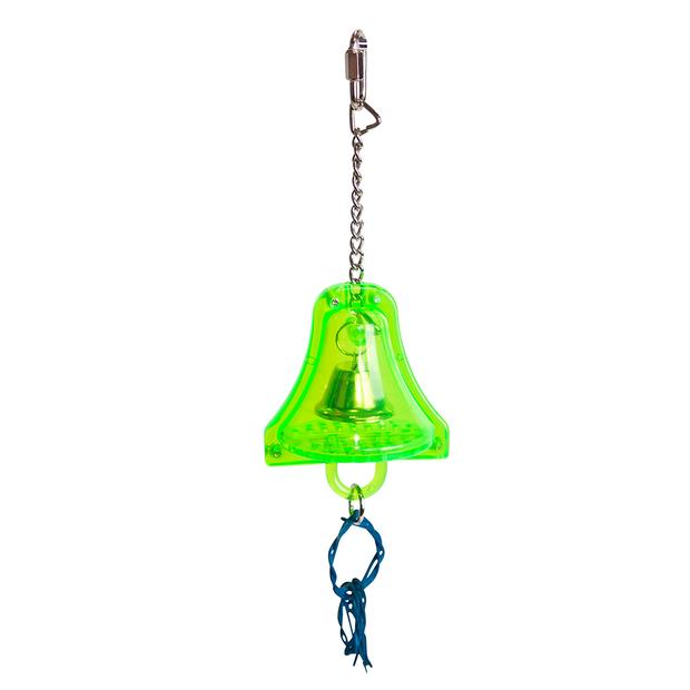 Kazoo Acrylic Bell With Wicker Rings Bird Toy Small Pet: Bird Category: Bird Supplies  Size: 0.1kg...