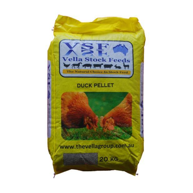 Vella Duck Grower Pellet 20kg Pet: Bird Category: Bird Supplies  Size: 20kg  Rich Description: Vella...