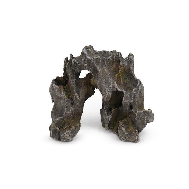 Kazoo Driftwood Arch Dark Grey Small Pet: Fish Category: Fish Supplies  Size: 0.4kg  Rich Description:...