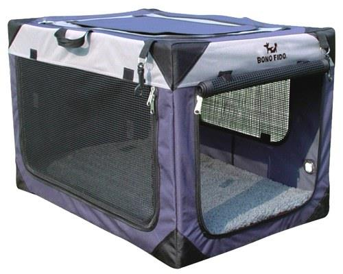 BONO FIDO KENNEL SOFT LARGEThe Bono Fido Soft Kennel is the ideal portable kennel for your furry...