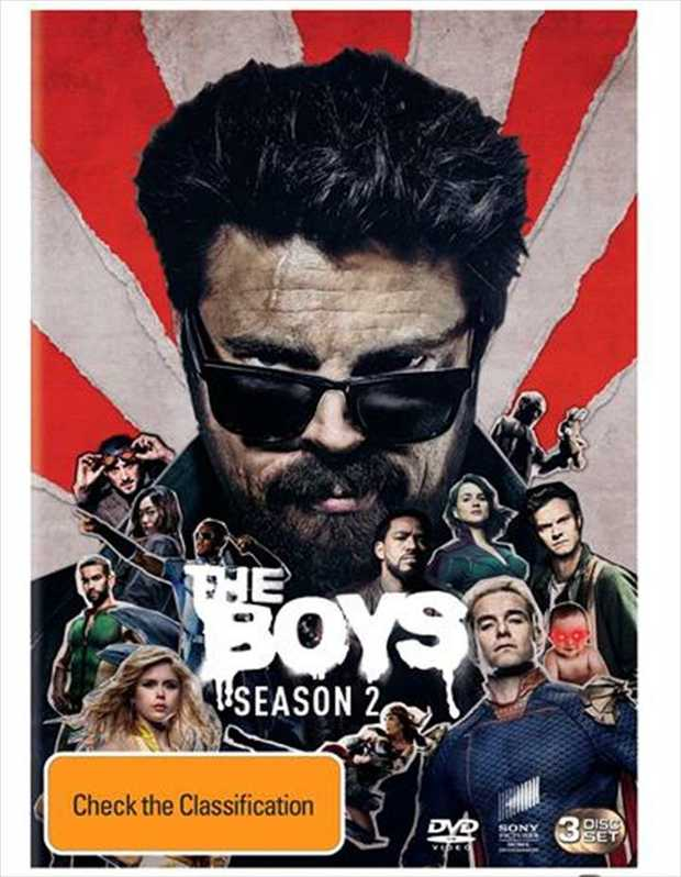 Never Meet Your HeroesIn a more intense Season 2 of THE BOYS, Butcher, Hughie and the team reel from...