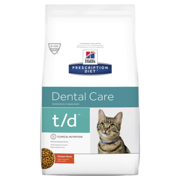 Hills Prescription Diet Feline Td Dental Care 4 X 3kg Pet: Cat Category: Cat Supplies  Size: 12kg  Rich...