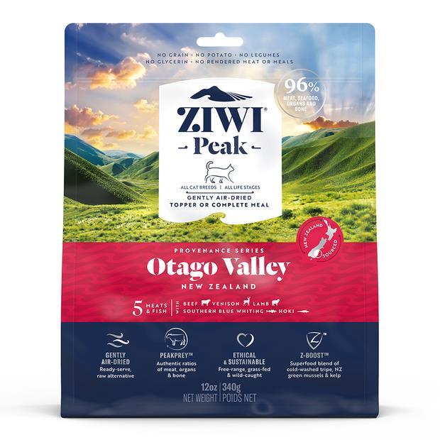 Ziwi Peak Provenance Otago Valley Cat Food 340g Pet: Cat Category: Cat Supplies  Size: 0.4kg  Rich...