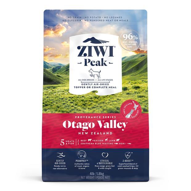 Ziwi Peak Provenance Otago Valley Dog Food 900g Pet: Dog Category: Dog Supplies  Size: 1kg  Rich...