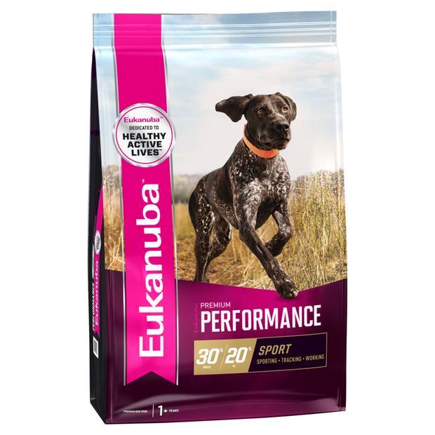 Eukanuba Premium Performance Sport Adult Dry Dog Food 3kg Pet: Dog Category: Dog Supplies  Size: 3kg...