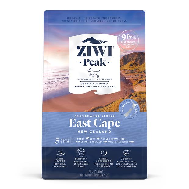 Ziwi Peak Provenance East Cape Dog Food 1.8kg Pet: Dog Category: Dog Supplies  Size: 1.8kg  Rich...