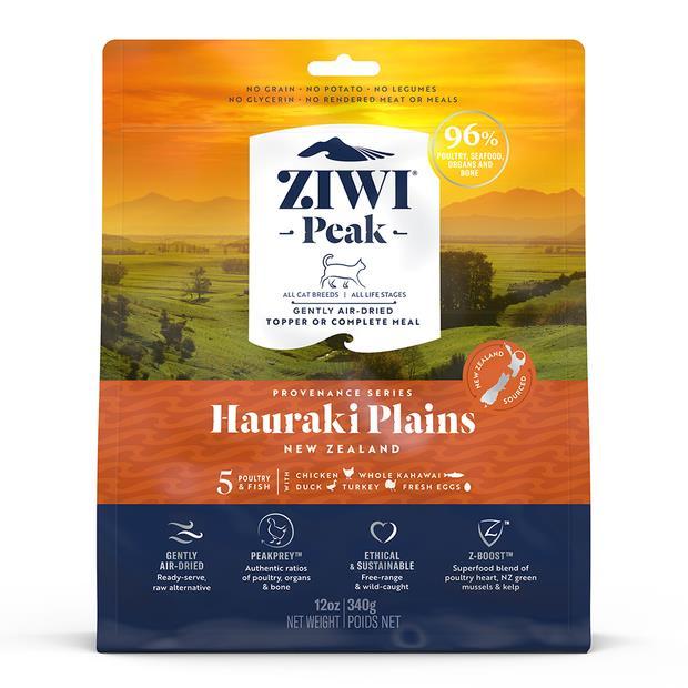 Ziwi Peak Provenance Hauraki Plains Cat Food 340g Pet: Cat Category: Cat Supplies  Size: 0.4kg  Rich...