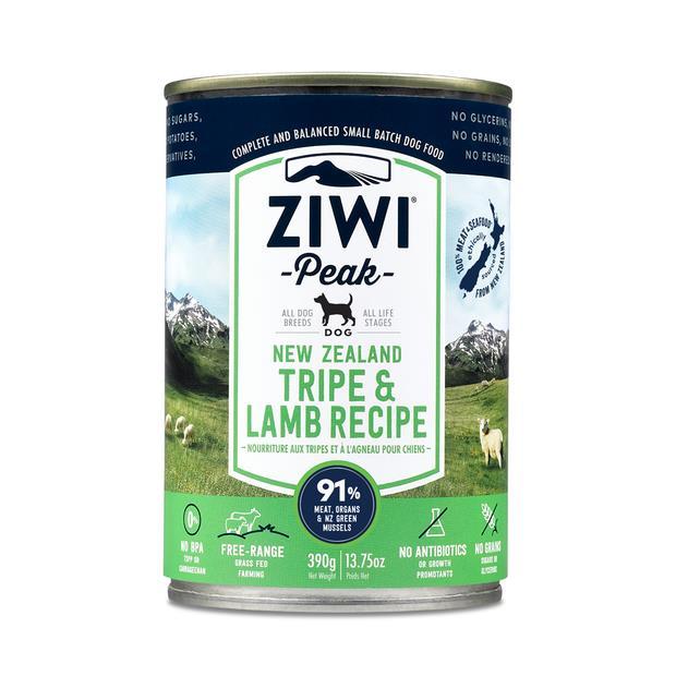 Ziwi Peak Wet Dog Food Tripe And Lamb 12 X 170g Pet: Dog Category: Dog Supplies  Size: 2kg  Rich...