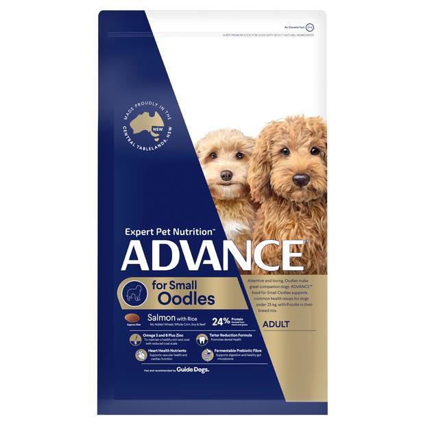 Advance Adult Small Oodles Dry Dog Food 13kg Pet: Dog Category: Dog Supplies  Size: 13kg  Rich...