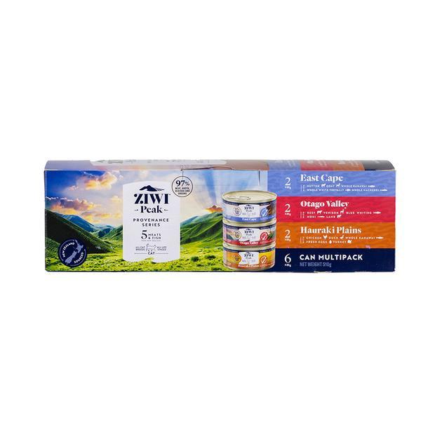 Ziwi Peak Provenance Multi Pack Wet Cat Food 6 X 85g Pet: Cat Category: Cat Supplies  Size: 1kg  Rich...