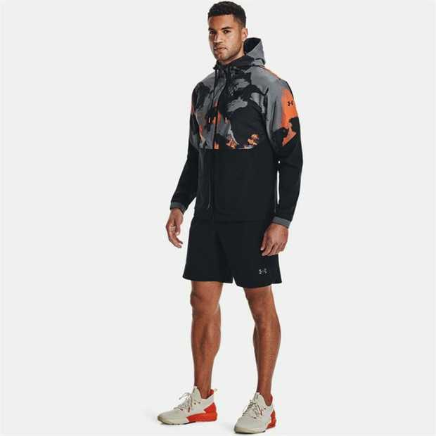 UA Storm technology repels water without sacrificing breathability Lightweight woven fabric is...