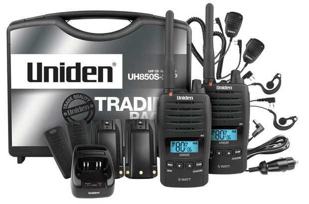 80 UHF Channels 5 Watt Maximum TX Output Power Voice Enhancer Smart Key Allocation Waterproof Master...