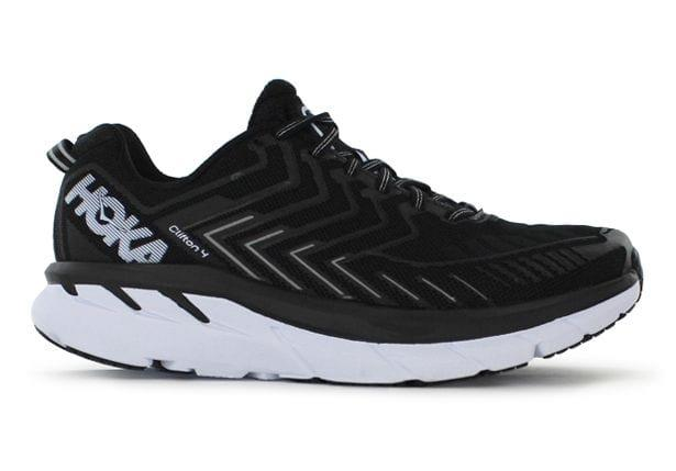 The Hoka OneOne Clifton 4 is focused on principles of impact reduction, efficient motion, high levels...