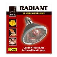 Urs Radiant Globe 75w Pet: Reptile Category: Reptile & Amphibian Supplies  Size: 0.2kg  Rich...