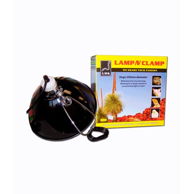 Urs Lamp N Clamp Small Pet: Reptile Category: Reptile & Amphibian Supplies  Size: 0.6kg  Rich...