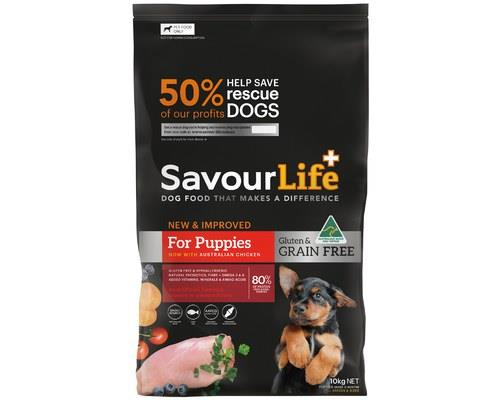 SAVOURLIFE GF PUPPY CHICKEN 10KGMmmm. So crunchy and delicious.Offering the tasty chicken flavour, and...
