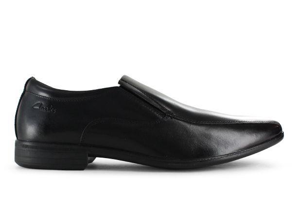 Columbia is a classic low-cut senior boys' slip on school shoe