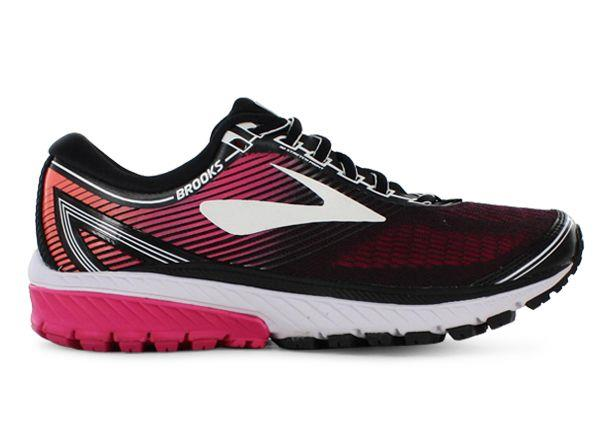 The Brooks Womens Ghost 10 running shoes are fit for those who require a cushioned running shoe. This...